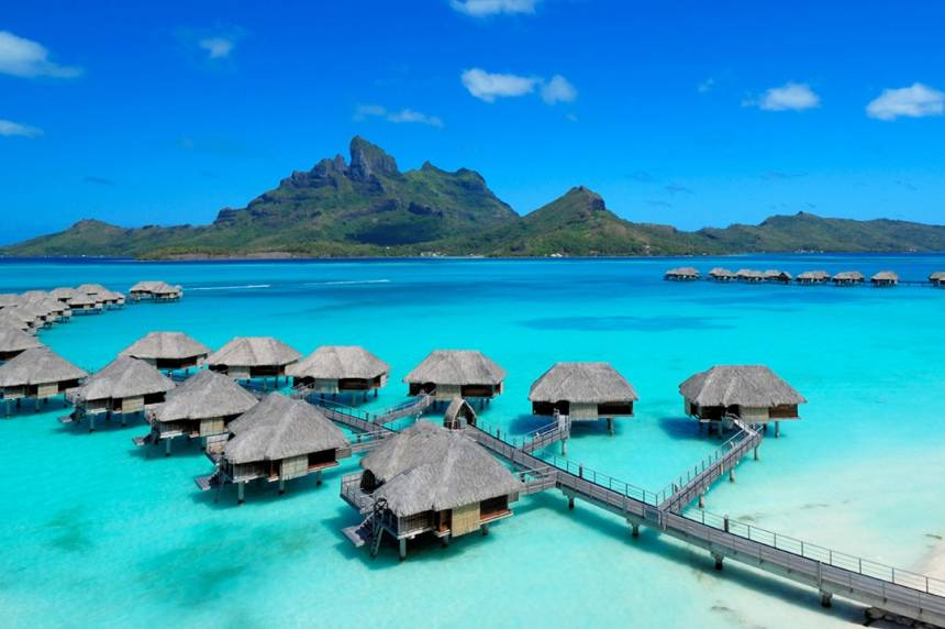 vakantie Bora Bora